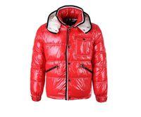 Bestseller Marke Männer Casual glänzend Daunenjacke Daunenjacke Herren  Outdoor Pelzkragen Warm Man Winter Dicke warme Mantel Outwear Jacken Parkas f571503920