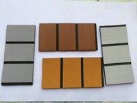 ingrosso luci campioni gratuiti-Spedizione gratuita EVA Foam Faux Teak Decking Sheet DarkLight Brown, Light Grey Samples Order