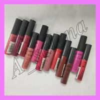 Wholesale nyx matte lip online - 2017 hot NYX Soft Matte Lip Cream LipGloss Lipstick Vintage Long Lasting NYX Lip Gloss colors