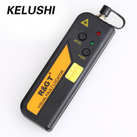 Wholesale Locator Light - KELUSHI 30mw Mini Fiber Optic red laser light Visual Fault Locator Cable Tester Testing Tool with 2.5mm SC FC connector for FTTH
