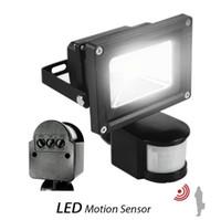 luces de inundación con sensor de movimiento al por mayor-100 w llevó los reflectores PIR sensor de movimiento infrarrojo 10 W 20 W 30 W 50 W llevó luces de inundación a prueba de agua al aire libre llevó las lámparas del paquete de pared ac 110-240 v