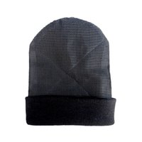 b3c8ebfe29c New BBoy Hip Hop Beanies Cap Men s Mesh Hat Knitted Skullies Winter Warm  Rotating Beanies Black Hat for Men