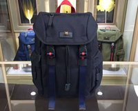 Wholesale backpack small light - New Arrival AAAAA quality 429047 Small Techno Canvas Backpack,Techno Backpacks with Embroidery,Black Mesh Back,Nylon Lining,Free Shipping