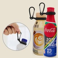 Wholesale clip for key ring for sale - Group buy Water Bottle Holder With Hang Buckle Carabiner Clip Key Ring Fit Cola Bottle Shaped For Daily Or Outdoor Use Silicone Carrier