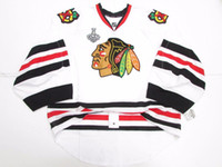 Wholesale Edge Jersey - Cheap Custom CHICAGO BLACKHAWKS AWAY 2015 STANLEY CUP EDGE JERSEY GOALIE CUT 60 Mens Stitched Personalized hockey Jerseys
