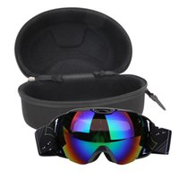 Wholesale snow goggle for sale - Group buy Double Lens UV400 Big Ski Mask Glasses Skiing Goggles Anti fog Ski Snowboard Snowboarding Winter Ice Snow Sports Eyewear