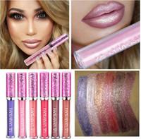 Wholesale best waterproof lipstick resale online - HANDAIYAN New Waterproof Makeup Liquid Lipstick Cosmetic Matte Lipstick for Women Best Glossy Lipstick Make up lip stick