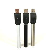 ingrosso il caricatore migliore del vape-La migliore batteria M3 venduta con caricabatterie USB Buttonless O penna 350 mAh penna vape 510 thread battery per cartucce CE3 G2 Glass