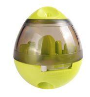 dispensador de dulces al por mayor-Masticar Juguetes para Perros Vaso Leakage Dog Toys treat ball Dog Toys Extraíble candy color Dispenser pet Productos