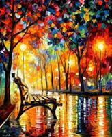 pintura a óleo imagem natureza venda por atacado-Pintura A Óleo Abstrata Na Lona Pintados À Mão Natureza Beleza Paisagem de Casa Decorativa Imagem 1 Pintura Da Lona Do Painel