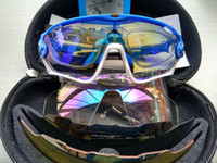Wholesale 16 Colors Fashion Sun Glasses With Lens Brand Polarized Jawbreaker Sunglasses For Men Women Sport Cycling Bicycle Running Mens Sunglasses