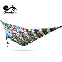 Wholesale Hanging Chair Furniture - SUPER BIG Hammock Outdoor Canvas Furniture Sleeping Hammock Camping Hunting Leisure Goods Thickening Hanging Chair