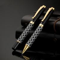 tükenmez kalem toptan satış-Yüksek kaliteli metal tükenmez kalem okul Business Executive Yazma ofis Malzemeleri için