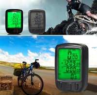 Wholesale computers displays for sale - Group buy 563A Bicycle Computer Waterproof Cycling Odometer Speedometer With LCD Display Bike Bicycle Computers Odometer Speedometer KKA4316