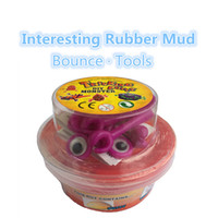Wholesale putty tools resale online - Intelligent Slime Creative Mud Smart Plasticine Tools Light Clay Hand Silly Putty Relieve Stress DIY Toys For Kids