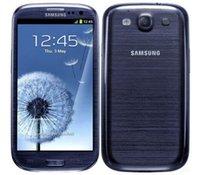 galaksi dört çekirdeği toptan satış-Orijinal Unlocked Samsung Galaxy S3 i9300 Cep Telefonları Android Cep Telefonu Quad core 4.8 INÇ IPS 8MP WIFI Yenilenmiş telefon