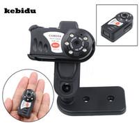 caméra infrarouge pour pc achat en gros de-Mini caméra Q7 sans fil WiFi DV DVR caméra IP HD 480P caméscope enregistreur vidéo Vision nocturne infrarouge pour PC portable