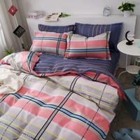 Wholesale 3d bedding set cheap online - Factory Sale Cheap Cartoon Bedding Set d Hello Kitty Bedclothes Bed Linen Duvet Cover Bed Sheet Pillowcase