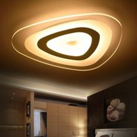 Wholesale dim lights for sale - Group buy D50cm Remote control living room bedroom modern led Acrylic ceiling lights luminarias dimming led ceiling lamp