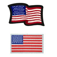 d0e47eddcfaf71 USA Flag American Flags Embroidered Patches Sewing Iron On Badge For Bag  Jeans Hat Appliques DIY Handwork Sticker Decoration Apparel Accesso