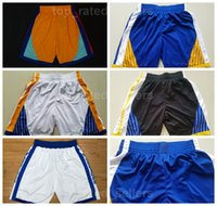 Wholesale Team Edition - Stephen Curry Pants The Bay Chinese Heritage City Edition Basketball Shorts Kevin Durant Klay Thompson Andre Iguodala Team Black White Blue