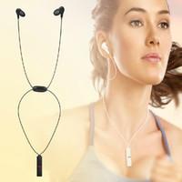 hece kablosuz bluetooth kulaklık toptan satış-Hece A6 Bluetooth Handsfree Spor Koşu Kulaklık Boyun Bandı Kulak Kulaklık Kablosuz Kulaklık Gürültü Iptal Kulaklıklar