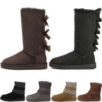 f23d75d51f9 wcaotamadeg chaussures de designer chaussures classiques de neige bottes  pas cher femmes bottes discount de mode cheville plus coton bottes de neige  ...