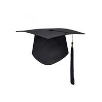 ingrosso graduazione della nappa-Festa di laurea della scuola Tassels Cap Mortarboard University Bachelors Master Doctor Hat accademico