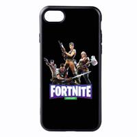 beliebte handy-spiele großhandel-Beliebte Fornite Game Print Telefon Fall für IPhone X 6/6 S 6 plus / 6 S Plus 7/8 7 plus / 8 plus Modemarke Telefon Fall Schutz 12 Stil Erhältlich