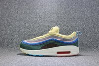 Wholesale New Woman Fashion Shoes Summer - Wholesale New Sean Wotherspoon Men Running Shoes women Fashion yellow white High Quality Sports sneakers trainers Size 36-45