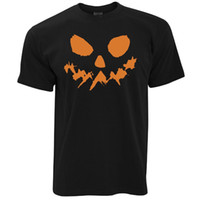 Discount halloween lanterns pumpkin - Scary Pumpkin Face Halloween Jack O Lantern Horror Ghost Fantasy Mens T-Shirt