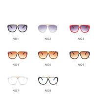 Wholesale European Style Women Suit - Popular European Style Photograph Decor Eyeglasses Fashion Suit Many Face Sunglasses Big Frame Men And Women Sun Glasses New Pattern 11jy Z