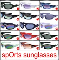 Wholesale bicycle beach - 2018 new summer men Beach sunglasses GLASS LENSES cycling glasses women Bicycle Glass driving Sunglasses 15colors cheap price free shipping
