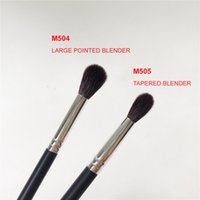 Wholesale taper tools - M504   M505 Large TAPERED BLENDER - Quality Synthetic Hair Eyeshadow Blending Brush - Beauty makeup brushes Tool