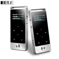 Wholesale Oled Player - BENJIE S5 Mini OLED Touch Screen HiFi MP3 Player 8GB Digital Voice Recorder High Sound Quality Entry-level Lossless E-book FM