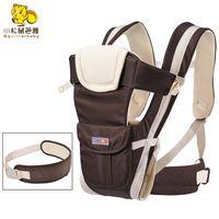 cabestrillo delantero al por mayor-Squirrelbaby 0-30 Meses Portabebés frontal respirable 4 en 1 infantil Cómodo mochila con funda para mochila Estuche para bebé