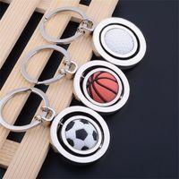 Wholesale key c for sale - Group buy Basketball Keys Ring World Cup Keychain Creative Golf Football Key Buckle Novelty Gift Many Styles cs C