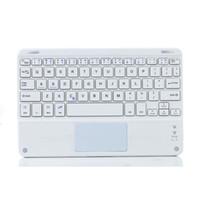 onglet clavier pouce achat en gros de-Clavier ultra-plat sans fil Bluetooth universel ultra-mince avec pavé tactile pour tablette Samsung Tab / Microsoft / Android / Windows