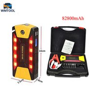 Wholesale start motors - High power 82800mAh Car Jump Starter Great Discharge Rate Diesel Auto Power Bank For Car Motor Start Jumper Battery
