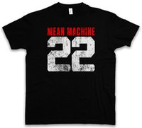 ingrosso cantiere art-T-SHIRT MEAN MACHINE 22 The Longest Yard Danny Meehan Maglietta di arti marziali
