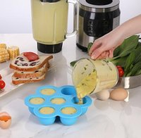 Wholesale silicone egg molds for sale - Group buy Silicone Egg Bites Molds for Instant Pot Accessories Ice Mould Reusable Storage Container And Freezer Tray with Lip nt