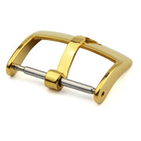 ingrosso fibbia da 18 mm-per Band ROL argento fibbia in oro rosa lucidato Watch Band Strap Pin fibbia 16 millimetri 18 millimetri 20 millimetri Orologi Sport Hombre cinturino cinturini ROL104