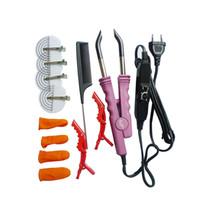Wholesale Fusion Plate - Professional Variable Heat Control FLAT PLATE Fusion Hair Extension Keratin Bonding Salon Tool Heat Iron Wand