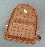 Wholesale Back Pack Men - Free shipping High Quality 3 size 2018 Luxury Brand men women's Backpack famous Backpack Designer lady backpacks Bags Women Men back pack