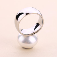 Wholesale china pears - New Fashion Stainless Steel Women Cute pear finger Rings Top Quality Size 6.7.8.9 unique design bears Jewelry Female Rings