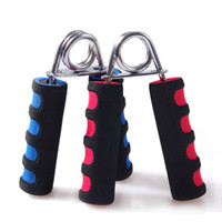 Wholesale strength fitness equipment resale online - A Type Foam Hand Grip Carpal strengthen Expander Fitness Forearm Arms Muscle Finger Gripper Trainer Strength Fitness Equipment