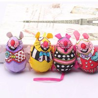 Wholesale Catnip Toys - Fat Interactive Fancy Catnip Cat Toy Fat Canvas Colorful Mouse Cat Mint Goods For Pets Funny Mouse Fun Toys For Cat Toys Mouse Color random