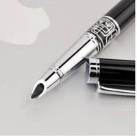 Extra Fine Nib 0.5mm Fountain Pen for Finance Metal Ink Pens Office Supplies School Supplie Birthday Gift