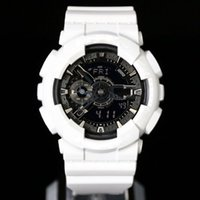 Wholesale Waterproof Watches Men Led - New impact high quality fashion brand sports watch men waterproof big boy digital LED multi-function, multi zone time, box, free delivery.