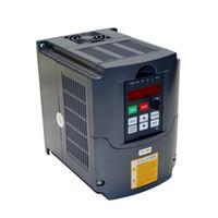 accionamiento inversor al por mayor-Máquina de grabado CNC enrutador de madera VFD grabador de piezas convertidor de frecuencia inversor 1.5kw 2.2kw unidad de frecuencia variable